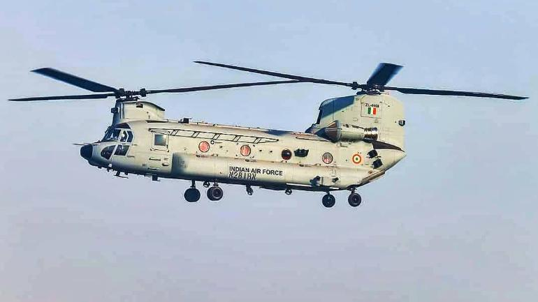 How Powerful Indian Air Force with Chinook Helicopter