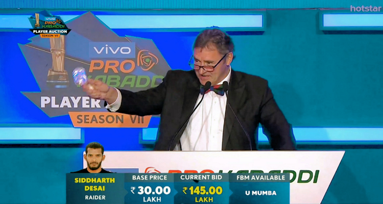 A Brief Information About Auction in Pro Kabaddi
